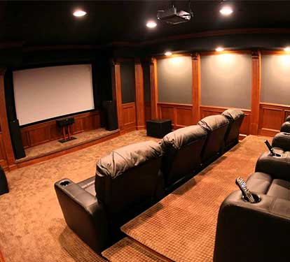 Private Theatre setup